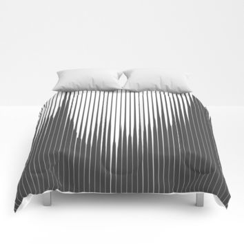 Grays Striped Comforters by duckyb