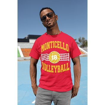 Men's Personalized Volleyball T Shirt Custom Volleyball Team Shirts Volleyball Dad T Shirt Personalized Shirts