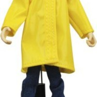 Coraline Bendy Doll in Rain Coat