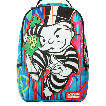 Monopoly Paint Drips Backpack (SPRAYGROUND)