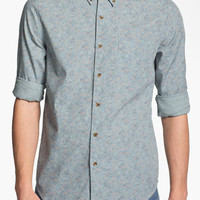 Topman Floral Print Woven Shirt | Nordstrom