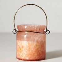 Hanging Candle Lantern by Illume Plumeria Jasmine One Size Candles