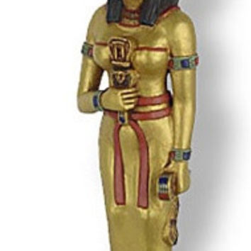Hathor Protector of Women Egyptian Goddess Statue 9.5H