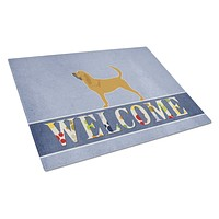 Bloodhound Welcome Glass Cutting Board Large BB5488LCB