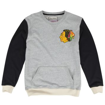 Mens Chicago Blackhawks Team To Beat Crew Sweatshirt