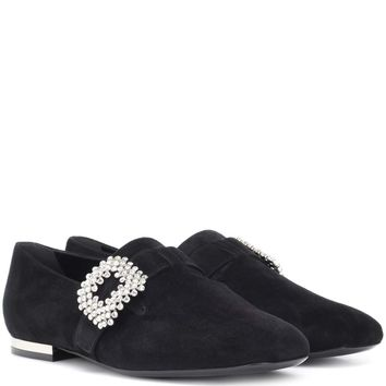 Diadem suede loafers