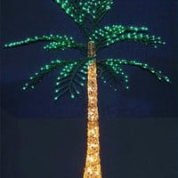 Lighted Palm Tree - 700 Clear And Green Mini Lights