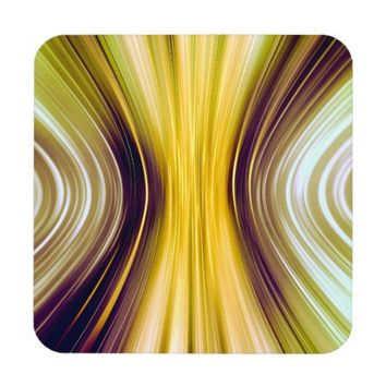 Sea Shell Moon Driving Dreams Plastic Coasters