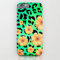 WILD FLOWERS 7 - for iphone iPhone & iPod Case by Simone Morana Cyla