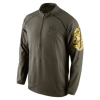 Nike Salute To Service Hybrid (NFL Redskins) Men's Training Jacket Size Small (Brown)