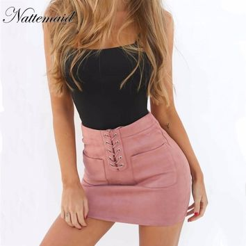 Summer Sexy Mini Bodycon Women Pencil Bandage Skirt