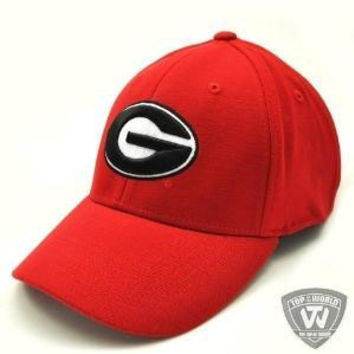 Georgia Bulldogs UGA Hat One-Fit Top of the World Hat