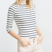 ORGANIC COTTON STRIPED TANK TOP
