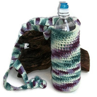 Hand Crochet Holder - Cozy for 20 oz  Bottle - Ready to Ship