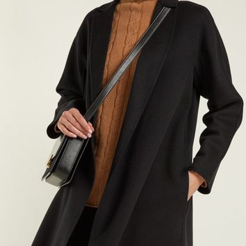 Cashmere and silk wool coat | Max Mara Studio | MATCHESFASHION.COM US