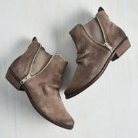 Again Bootie in Taupe
