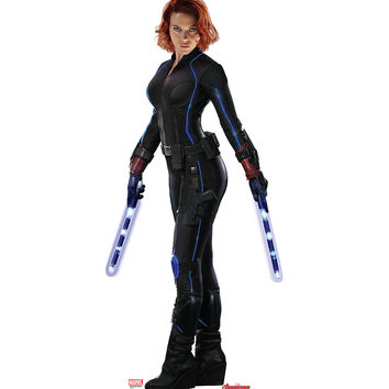 Black Widow Avengers Age Of Ultron Cardboard Standup