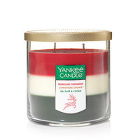 Holiday Trio - Sparkling Cinnamon / Christmas Cookie™ / Balsam & Cedar Medium 2-Wick Tumbler Candles - Yankee Candle
