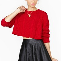 Valley Girl Crop Sweater
