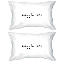 Bold Statement Pillowcases 300T Count Standard Size 20 x 31 – Snuggle Time