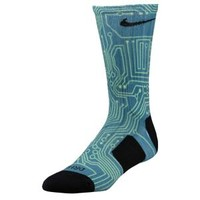 Nike Lebron Digital Ink Elite Crew Socks - Men's