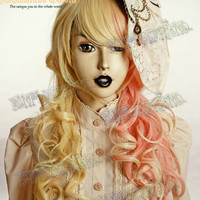 Steampunk Lolita Clock Tulle Hairdress Bow*3color
