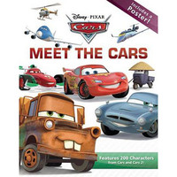 Disney Pixar Cars Meet the Cars Book