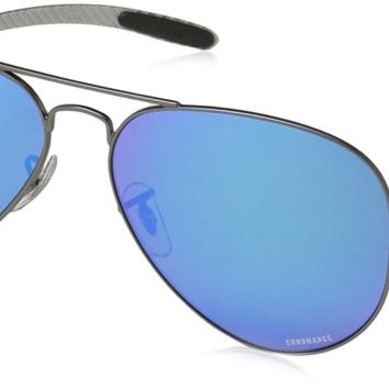 Cheap Ray-Ban RB8317CH Chromance Lens Aviator Sunglasses outlet