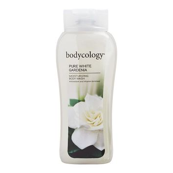 Bodycology Moisturizing Body Wash, Pure White Gardenia, 16 Oz.