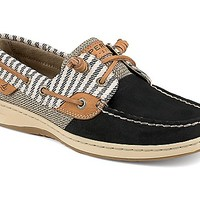 Bluefish Mariner Stripe 2-Eye Boat Shoe