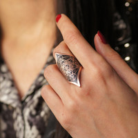 Metatrons Cube Ring