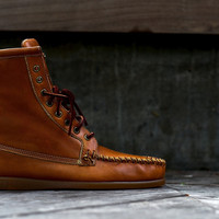 Sebago Seneca- Tan | 7 Shoes | Ronnie Fieg x Sebago