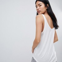 Pull&Bear Basic Tank Top at asos.com