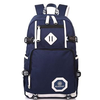 Travel Bag Backpack for College Vintage Daypack School Bookbag