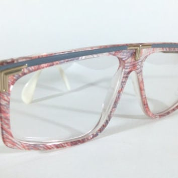 Cazal Mod:190 Col.297,RARE Vintage Cazal 190, Vintage Glasses By Cari Zalloni made in W.Germany, True Vintage 80's Cazal 190, NOS