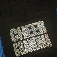 Cheer Grandma Jacket/Sweatshirt with Hood (6 colors)