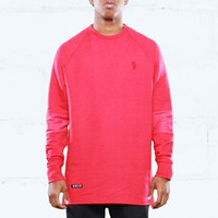 Rudimental Paneled Terry Jersey Red