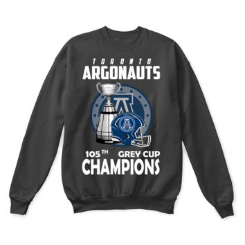 DCCKON7 Toronto Argonauts 105th Grey Cup Champions CFL Canada Sweater