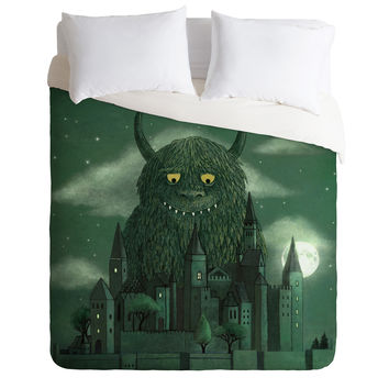 Terry Fan Age Of The Giants Duvet Cover