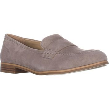 naturalizer Veronica Comfort Penny Loafers, Grey, 6 US / 36 EU