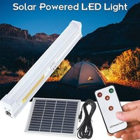 Remote Control Solar Powered 30 LED Solar Light Bulb Floodlight Outdoor Garden Light Emergency Camping Lamp