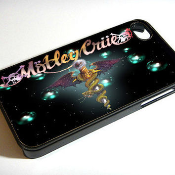 Motley Crue Logo - Print on iPhone 4/4s Case - iPhone 5 Case - Samsung Galaxy S3 - Samsung Galaxy S4