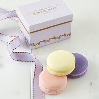 Set Of Three Macaroon Soaps