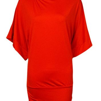 MICHAEL Michael Kors Women's Logo Boat-Neck Tunic Cover-Up