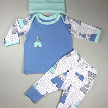 18e1fca6d Newborn set, Baby Boy Coming home outfit, Coming home set, Baby