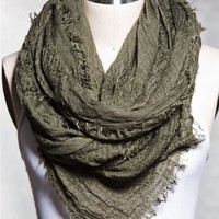 Oversized Woven Scarf
