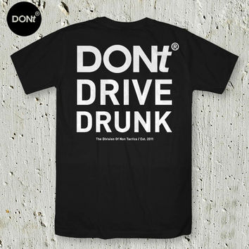 DONt DRIVE DRUNK /Cycling Shirt ,Rider Tshirt ,Fixie Shirt,Fixed gear Shirt,Bicycle Jersey,Teen Shirt,tumblr shirt,Typography tees,pinterest