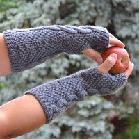Knitted mittens gloves mitts glove mitten