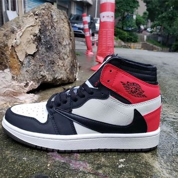 Air Jordan 1 High OG TS SP White/Red/Black