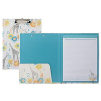 Giraffe Padfolio with Clipboard